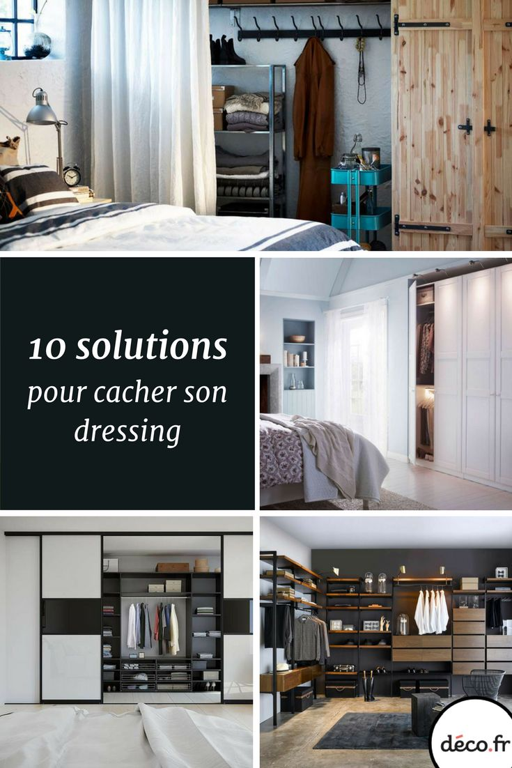 solutions pour cacher son dressing with dressing lapeyre 3d. Black Bedroom Furniture Sets. Home Design Ideas