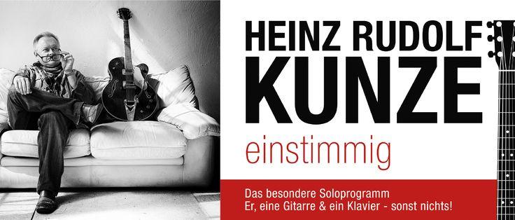Heinz Rudolf Kunze | Ostsee-Revue 2018 in Barth, Greifswald & Torgelow