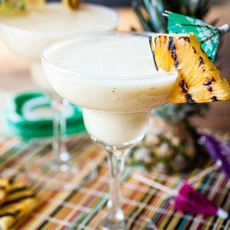 Deepen the flavor of a classic piña colada by grilling the pineapple before blending with the coconut milk, rum and crushed ice. *Image Courtesy of Sydney Kramer of Crepes of Wrath