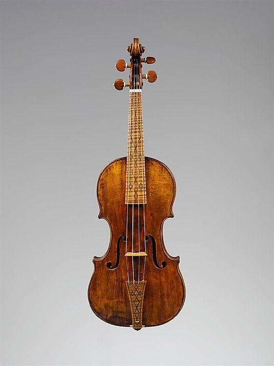 1669 Italian (Cremona) Violin at the Metropolitan Museum of Art, New York