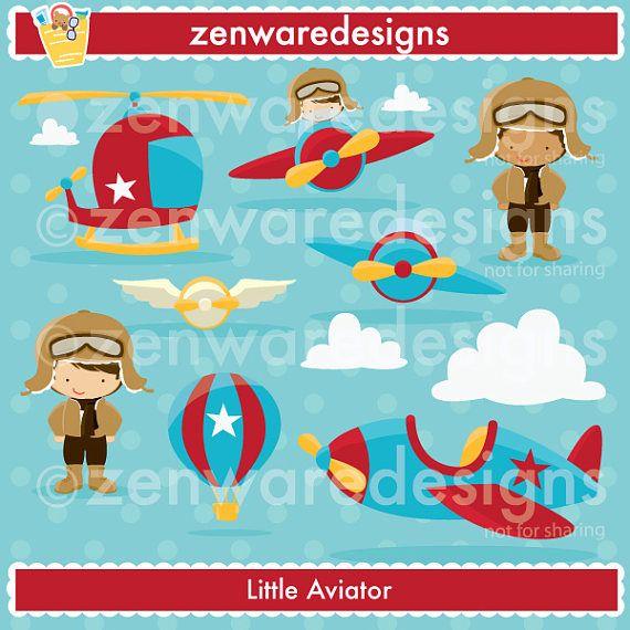 ¡Tiempo para volar! Gráficos poco aviador perfectas para ese chico especial que tiene su corazón en vuelo! Incluye piloto Imágenes Prediseñadas, imágenes prediseñadas de aviador, avión clipart, helicóptero Imágenes Prediseñadas, imágenes prediseñadas de globo de aire caliente y mucho