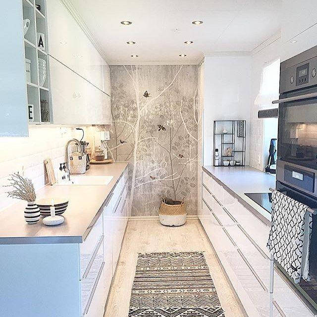Se så lekkert! Kjøkkenet til @etm_interior er bare nydelig ⭐️