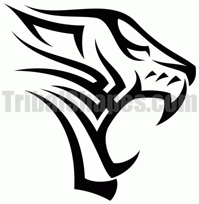 Tribal Tiger Designs | tweet author tribalshapes com url http www tribalshapes com