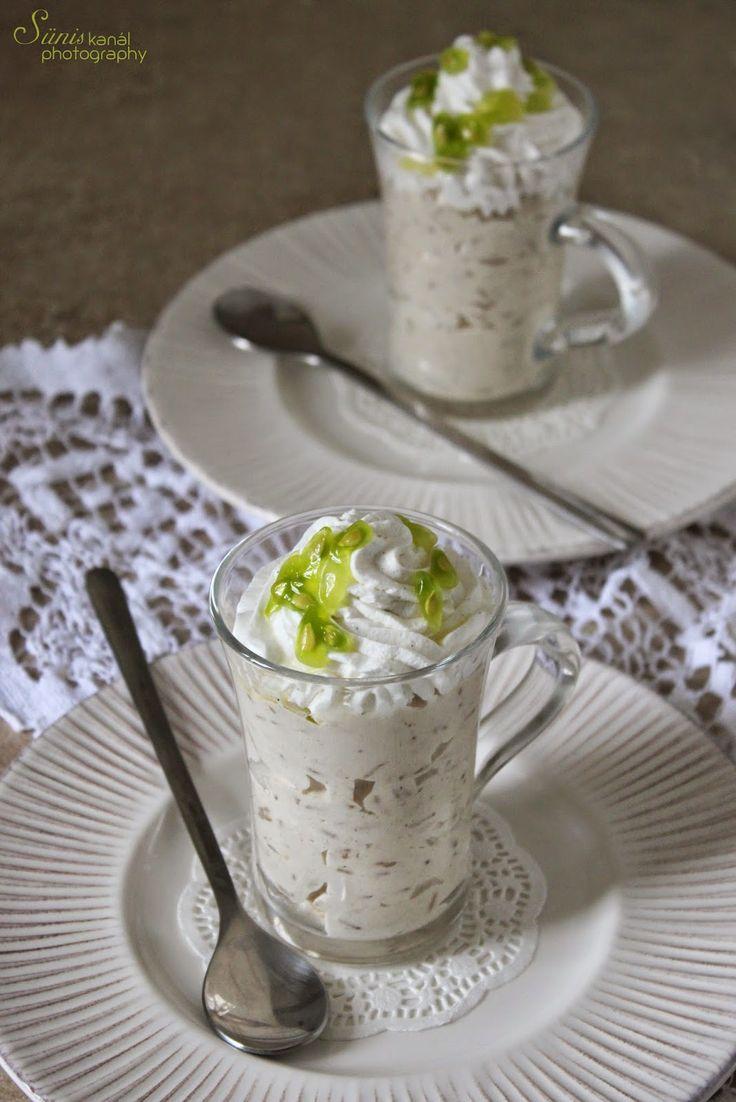 """Sünis kanál: Latte macchiato rizs - avagy a """"lepassiógyümölcsöz..."""