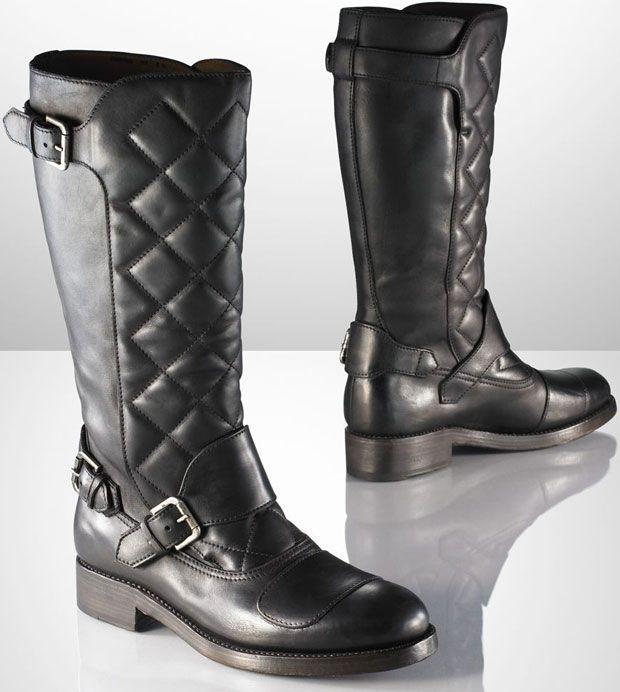 Ralph Lauren Men's Pull-On Boot