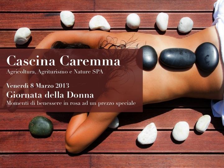 I pacchetti Benessere di Cascina Caremma per la Festa delle Donne.