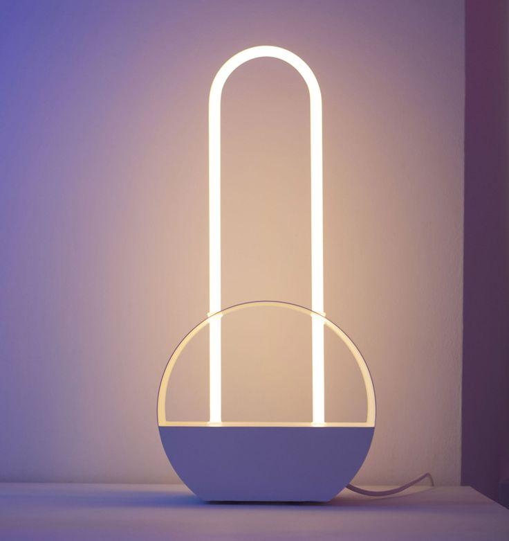 giorgia zanellato designs experimental neon mirage collection