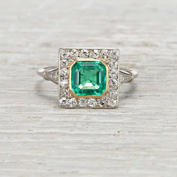 Truly Stunning Vintage & Antique Engagement Rings - Mon Cheri Bridals