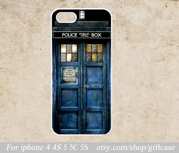 TARDIS Doctor Who iPhone case by Giftcase