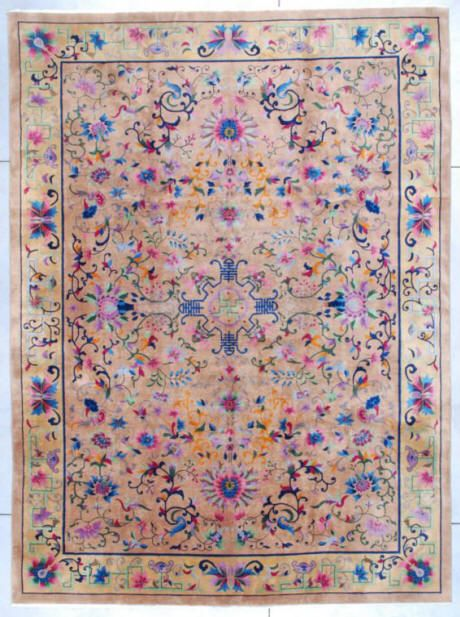 Art Deco Chinese Oriental Rug 7407 Size 10 0 X 13