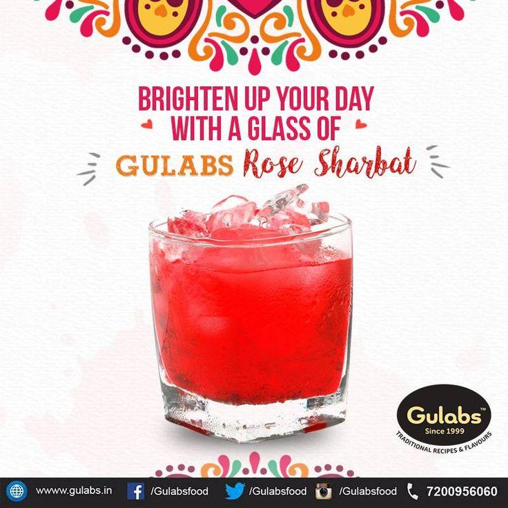 Indulge in this flavorful drink !!  #gulabs #rosesharbat #sharbat #drink #summerdrink