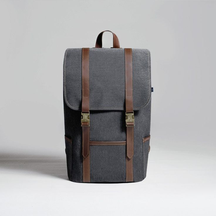 The Forge Backpack in slate by Mother Co. Made in Canada  - $149