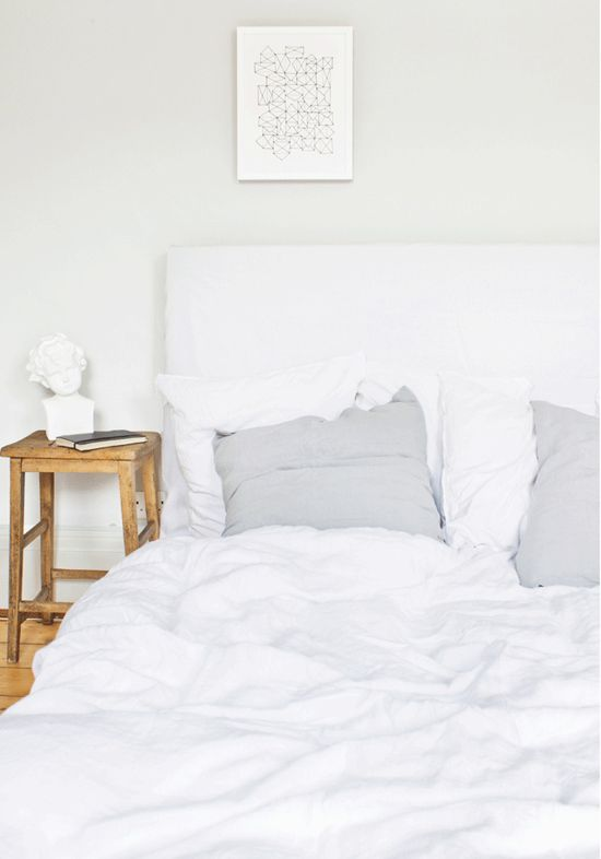 Cozy bed linen by Bodie and Fou
