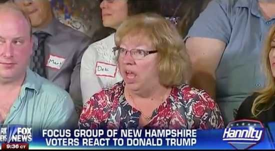 Fox News focus group goes hilariously off the rails fighting over Donald Trump   Fox News focus group participant