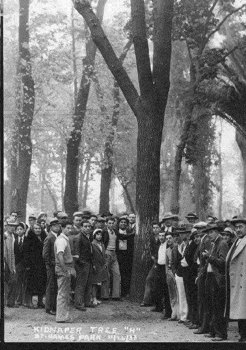 1933 lynch mob in San Jose, Calif.