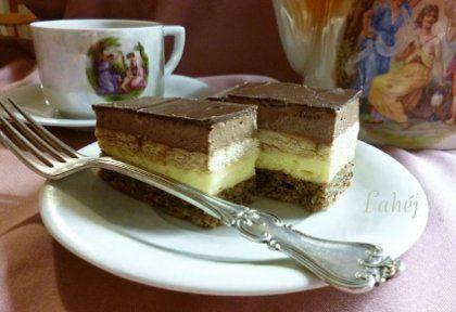 3bit szelet csokimázzal | NOSALTY – receptek képekkel
