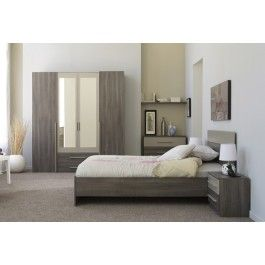 Parisot Alix Bedroom Furniture Set European Double