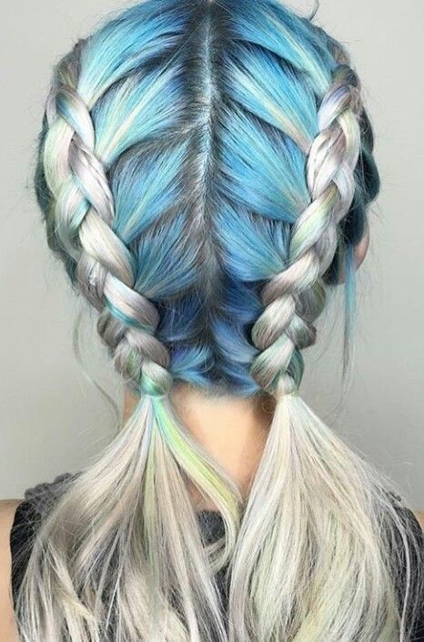 Pastel Hair Braids :  https://www.etsy.com/shop/lunartideshair