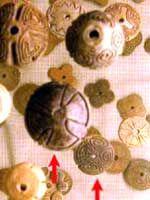 Старинная керамика индейцев Комичигон, Археологический  в Сантьяго дель Эстеро, Аргентина
