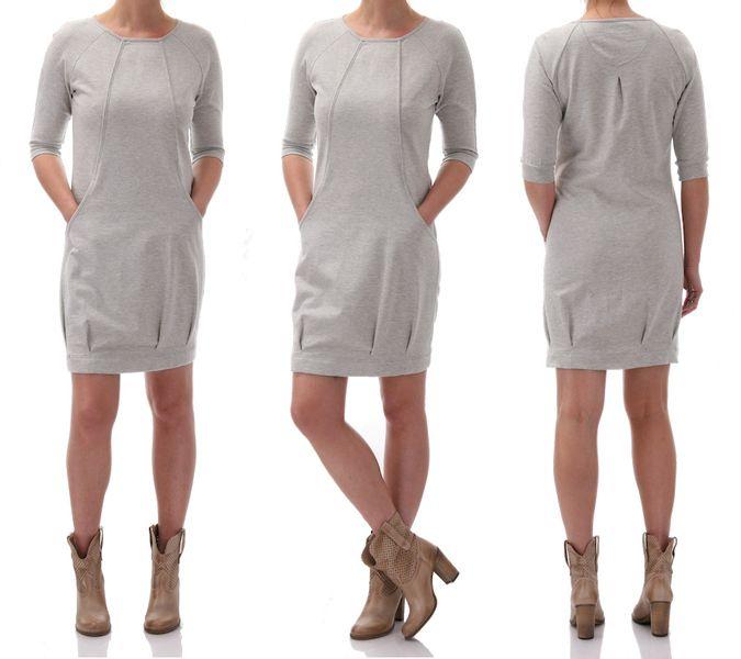 Daisy - dresowa sukienka od Freeshion w Freeshion na DaWanda.com