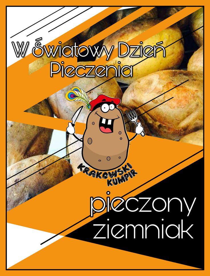 ☀ ŚWIATOWY DZIEŃ PIECZENIA ☀  To właśnie dzisiaj - 18 czerwca - przypada Światowy Dzień Pieczenia.  Ponieważ święta, nawet te nietypowe, są po to, aby po prostu świętować, w dzisiejsze zapraszamy na PIECZONEGO ZIEMNIAKA do jednego z naszych lokali ---> http://krakowskikumpir.pl/lokale/ ☀  #krakowskikumpir #kraków #warszawa #katowice #rzeszów #Pieczoneziemniaki #kumpir #piec #smak #jedzenie #bar #food