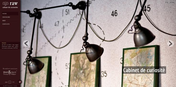 Raw - cabinet de curiosités  http://www.rawmilano.it