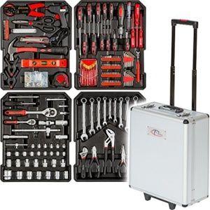tectake-maletin-herramientas-416, caja de herramientas con ruedas