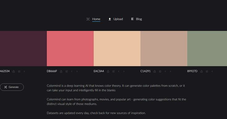 The intelligent color palette generator inspired by film | Freepik Blog #graphicdesign