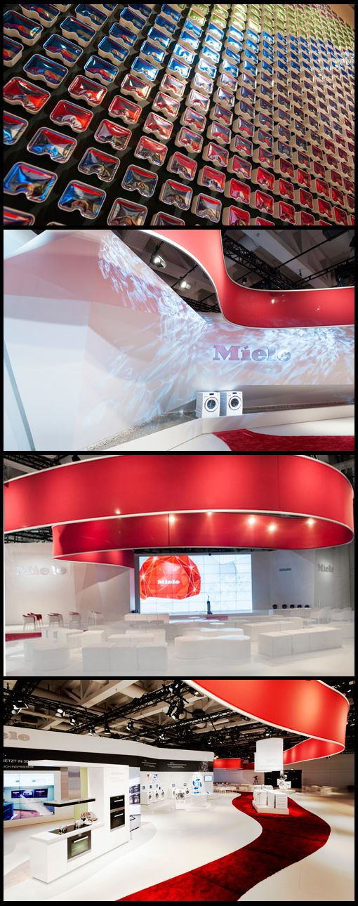Exhibition Stand Design Harrogate : Miele by kohlhaas messebau exhibition stands pinterest