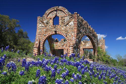 Spring time In Texas. Photo taken in Glen Rose, TX 76043, USA