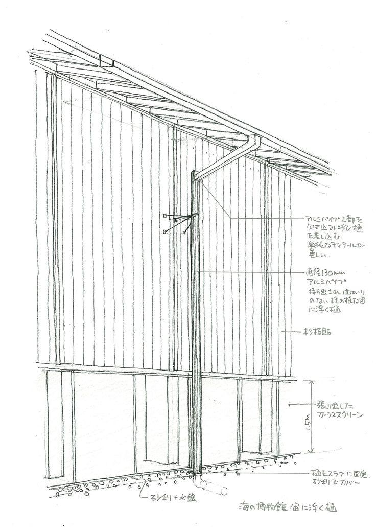 第4回のテーマは、「切妻大屋根の雨の処理」。建築家、内藤廣氏の建築に多く見られる切妻の大屋根の美しさ、その背後にはどのような雨の処理が施されているのだろうか。3つの作品からその雨のみちのディテールを紐解いていきます。(※建築家、堀啓二さんによる新連載「雨のみち名作探訪」。)
