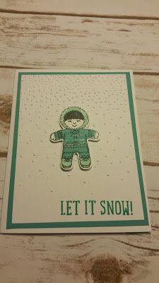 Stamp with Roberta: Sneak Peak- Cookie cutter Christmas -Eskimo