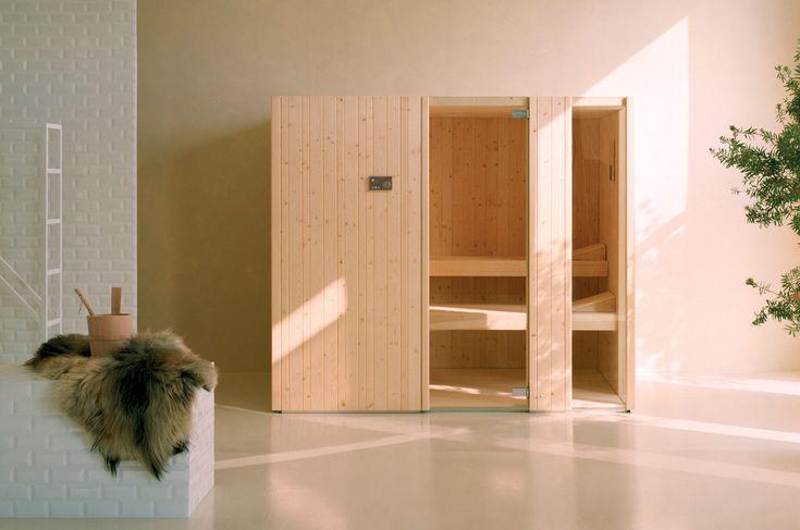 #Effegibi #Auki 60 #Sauna SA 50 60 0050 | on #bathroom39.com | #hammam #sauna #spa #design