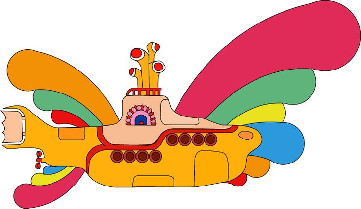 Beatles Yellow Submarine Clip Art | yellow-submarine-dp