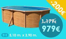 Promo #piscine #hors #sol sur Trigano Store