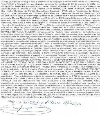 RN POLITICA EM DIA: PILÕES: PARTIDO REPUBLICANO BRASILEIRO VEICULA ATA...