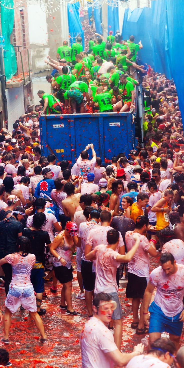 La Tomatina—Buñol, Spain | TOP 10 World Legendary Festivals You Don't Want To Miss