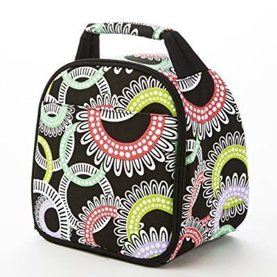 FIT AND FRESH GABBY INSULATED LUNCH BAG, MULTI RING!!