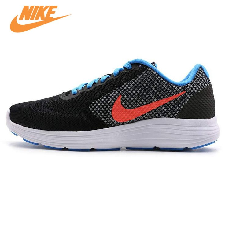 Original New Arrival Official Nike REVOLUTION 3 Breathable Women's Running Shoes Sports Sneakers Trainers