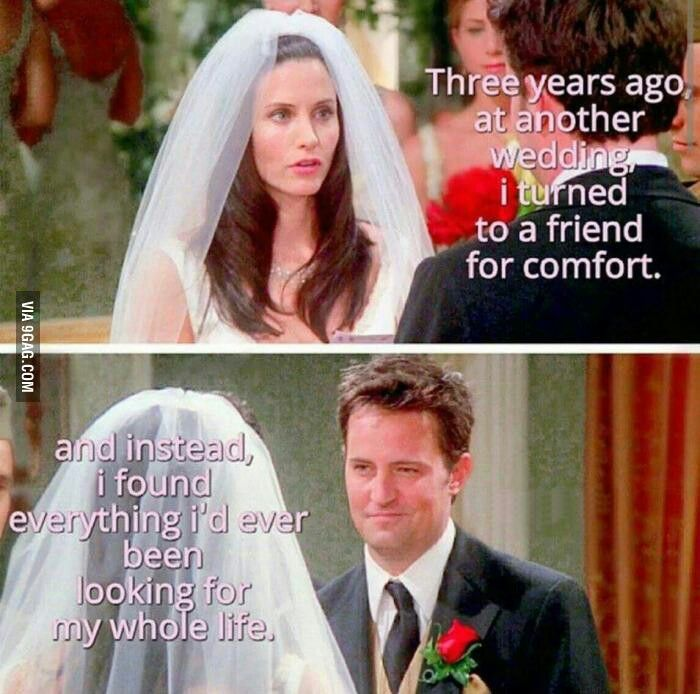 OTP: Chandler and Monica