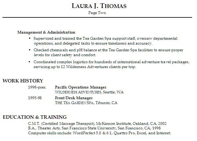 Cosmetology Resume Objective Statement Example -    www - columnist resume 2