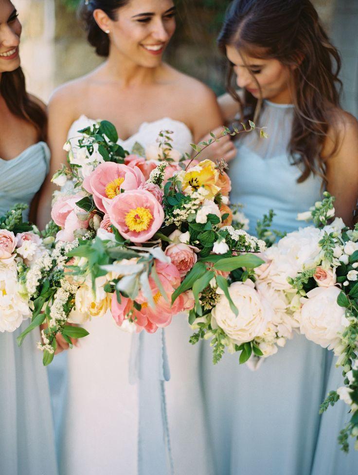 aqua bridesmaid dress | Photography: Brumley and Wells