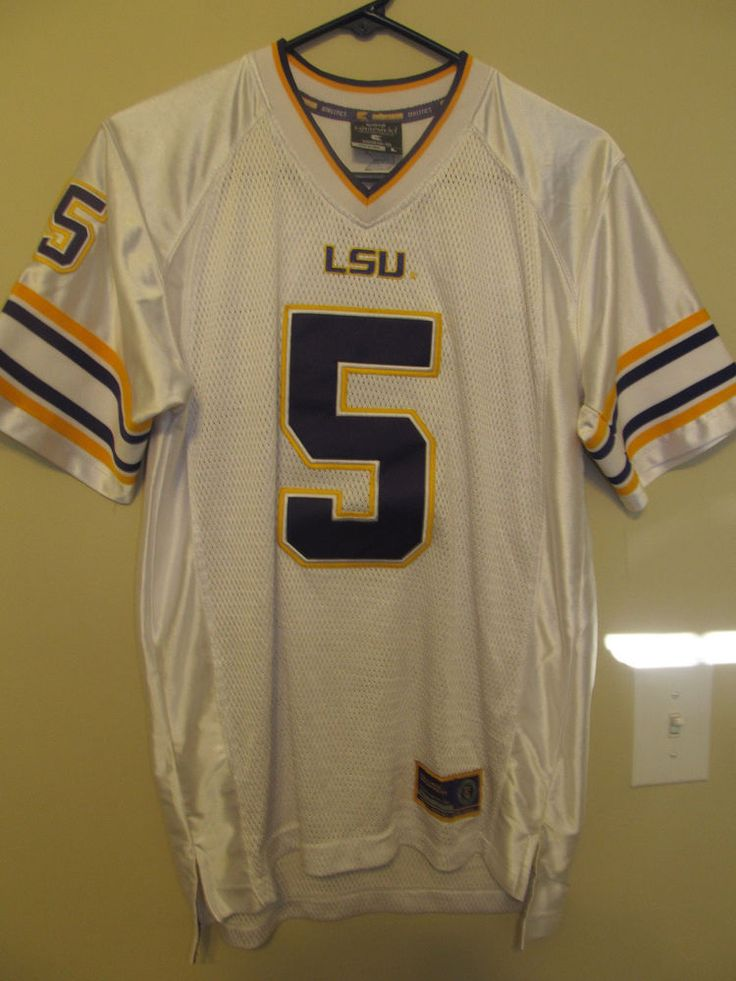 LSU Tigers football jersey - Colosseum Youth Large #ColosseumAthletics #LSUTigers