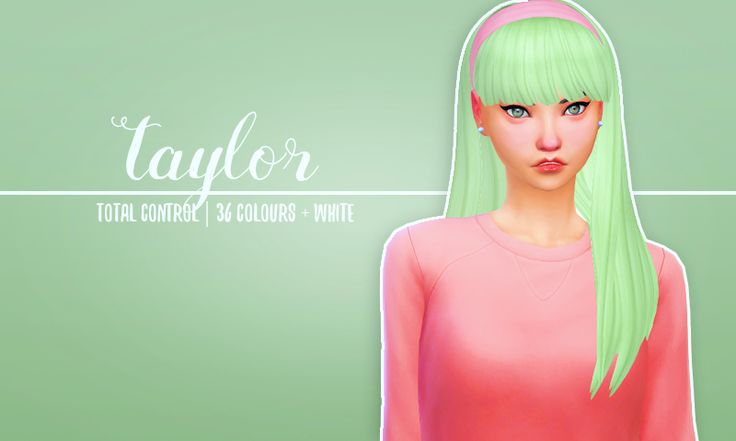 Taylor by holosprite*recolor*[holosprite] total control v2 ...