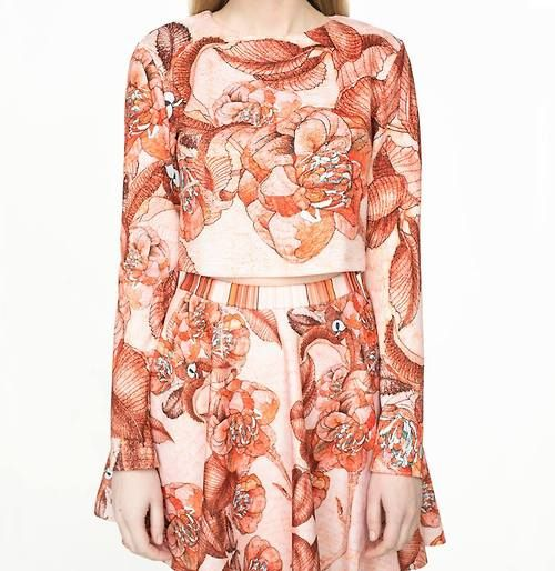 fabric pattern designed for a polish fashion designer - PAJONK, 2013