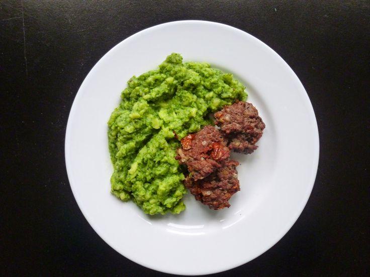 Jsem na kaši: Jídlo jako životní styl II.: Karbanátky se sušenými rajčaty