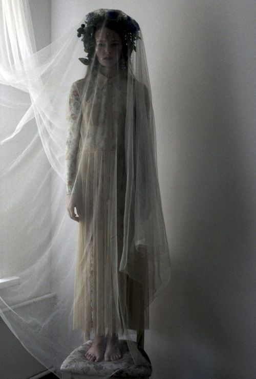 ☫ A Veiled Tale ☫ wedding, artistic and couture veil inspiration - Lena Kholkina