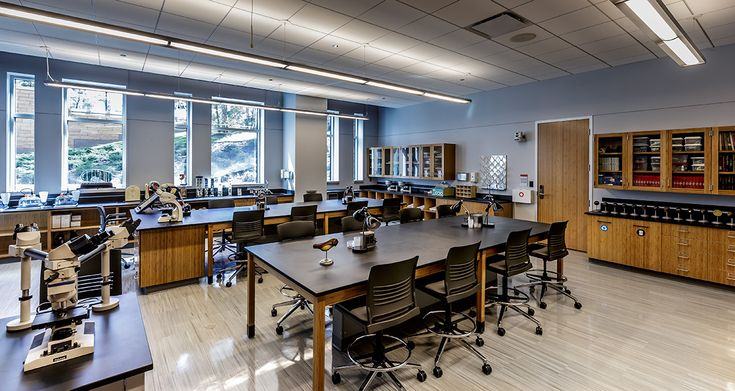 Interior Design North Park University, Microbiology Lab