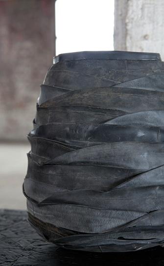 Serax, rubber tyre pot, in Storie Paris now. www.storieblog.com