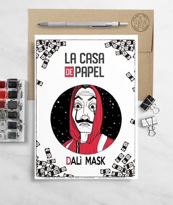 MONEY HEIST La Casa De Papel TV Show PHOTO Print POSTER Art Series Bella Ciao